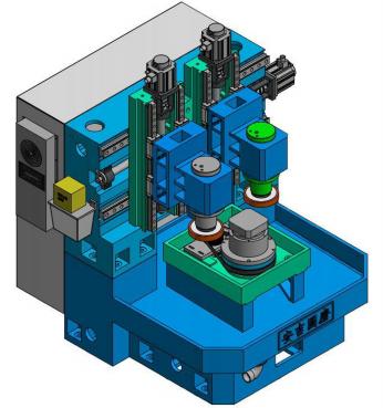 SZN200双主轴立式外圆复合磨床